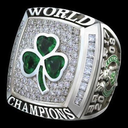 #2 celtics 2008 nba championship ring
