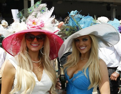 #2 random hot chicks with cleavage at 2012 kentucky derby