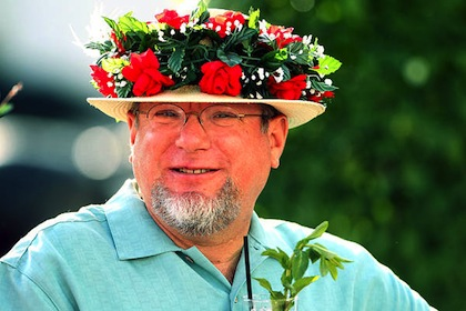 #20 stupid 2012 kentucky derby hat dude