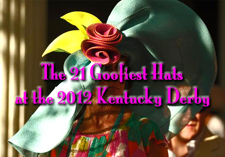 2012 kentucky derby crazy hats