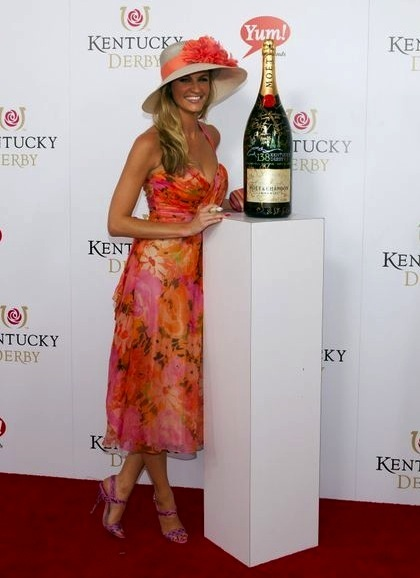 erin andrews at 2012 kentucky derby