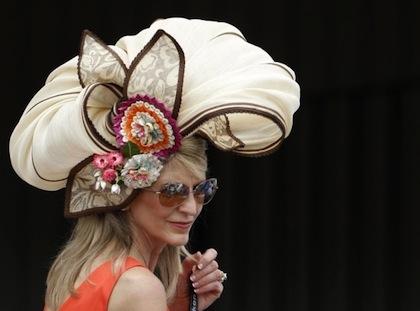#4 crazy weird funny stupid 2012 kentucky derby hats