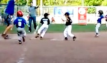 6-Year-Old Makes Amazing Unassisted Triple Play (Video)