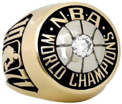 #7 bucks 1971 nba championship ring