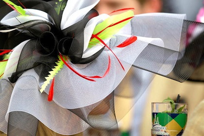 #7 crazy weird funny stupid 2012 kentucky derby hats abstract art hat