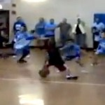 8-year-old basketball player killer crossover ankle-breaker