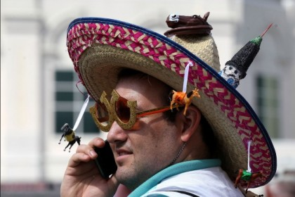 #9 crazy weird funny stupid 2012 kentucky derby hats sombreros