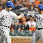 Josh Hamilton 4 home runs vs Orioles