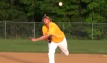 One-Armed Little Leaguer Coleman Shannon Throws A No-HItter (Video)