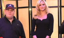 Kate Upton Demonstrates Her Patience WIth 2 MLB TV Hosts Dancing Like Morons (Video)