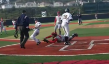 Baserunner Pulls Some Parkour-Like Moves In Walk-Off Steal (Video)
