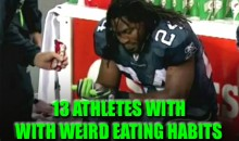 13 Athletes With Weird Eating Habits