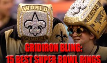 Gridiron Bling: The 15 Best Super Bowl Championship Rings