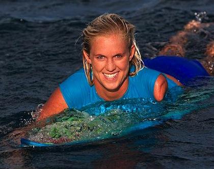 'Soul Surfer' Bethany Hamilton