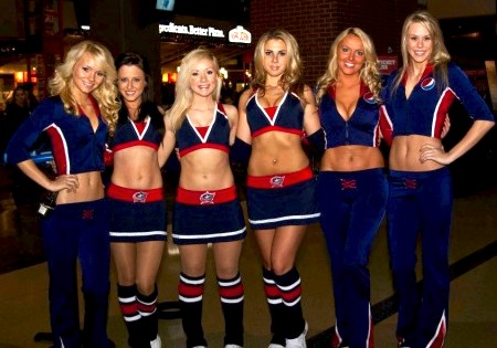 blue jackets ice girls