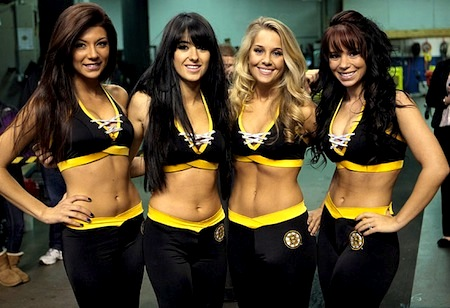 bruins ice girls