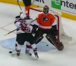 Ilya Bryzgalov's Give-Away Leads To Series-Losing Goal (Video)
