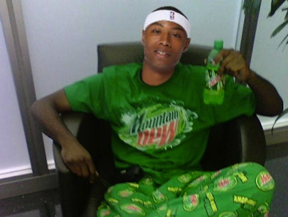 caron butler mountain dew