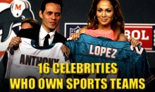 16 Celebrities Who Own Sports Teams