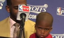 "Chris Paul's Son Does A Great ""Blake Face"" (Video)"