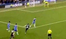 Newcastle's Papiss Cisse Scored An Amazing Goal Against Chelsea Today (Video)
