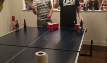 Claude Giroux Was Beating Smokeshows In Beer Pong With Casts On Both Wrists (Photos)