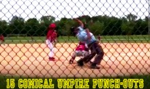 15 Comical Umpire Punch-Outs (Videos)