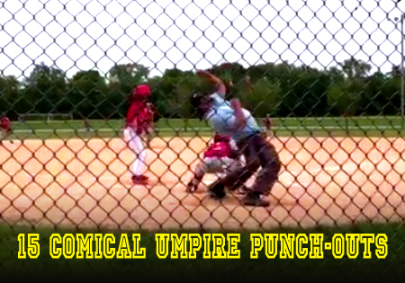 comical umpire punch-outs
