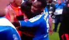 Michael Essien And Salomon Kalou Celebrate Chelsea's Champions League Victory By Grinding With Hot Physio Girl (Video)