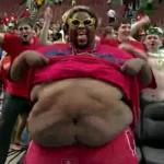 fat 76ers fan