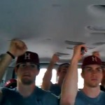 harvard baseball team sings dances to call me maybe in team van