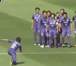 Japanese Soccer Player Scores Awesome Goal From 75 Yards, Ruins It With Ridiculous Celebration (Video)