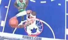 Josh Smith Misses Breakaway Reverse Dunk (Video)