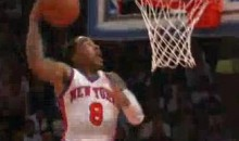 Knicks' J.R. Smith Throws Down Ridiculous Dunk In Losing Effort (Video)