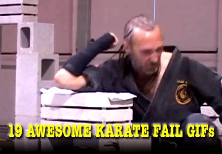 karate fail gifs