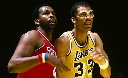 kareem abdul-jabbar and moses malone 1982 nba finals