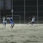 krissy soccer ball to face