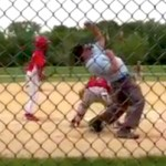 little league umpire crazy punch out