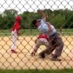 little league umpire crazy punch out