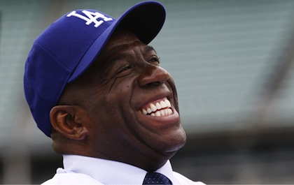 magic johnson dodgers owner