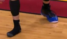 Dwyane Wade To Mike Bibby: No Shoe For You! (Video)