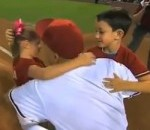Kids Throw Out First Pitch Unknowingly to Military Dad at Diamondbacks Game (Video)