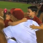 military homecoming dad surprises kids throwing out first pitch at diamondbacks game