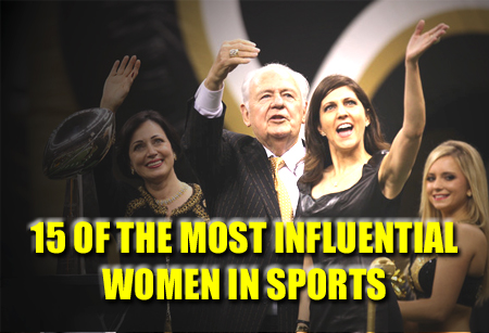most INFLUENTIAL POWERFUL women in sports