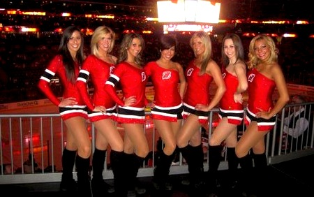 new jersey devils ice girls