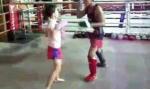 You Don't Want To Mess With This 9-Year-Old Female Kickboxer (Video)