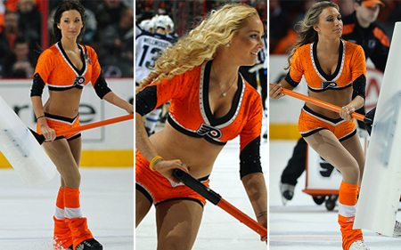 philadelphia flyers ice girls