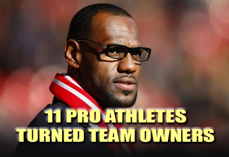 pro athletes who are team owners
