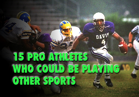 pro athletes who could play be playing another sport