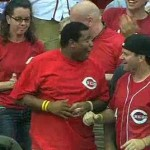 reds fan catches two home runs